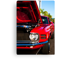 4977_Red Boss Canvas Print