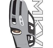 S3 & S4 Snap Case MK6 Gti by VolkWear