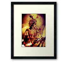 Radha Krishna- The Infinity Framed Print