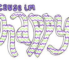 Happy lyric drawing by artbyeilidh