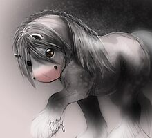 Gypsy Horse Sketch by 14twoStudios