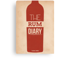 The Rum Diary Canvas Print