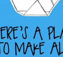 Prison Break || Origami Crane Sticker