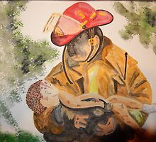 Oklahoma Firefighter,  1995 by Natascha22