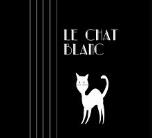 Le Chat Blanc by Catherine Hamilton-Veal  ©