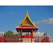 To Be and NOT really to Be at the Pagoda Photographic Print