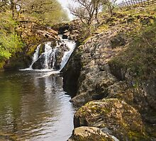Waterfall in the Yorkshire dales by chris2766