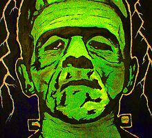 Boris Karloff as Frankenstein's monster 2 by Mark Cox
