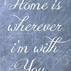 Home is Wherever I'm with You by Hilary Walker