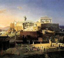 Acropolis of Athens  by troycap