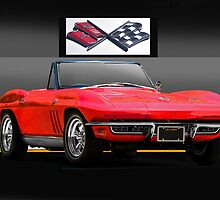 1965 Chevrolet Corvette Convertible by DaveKoontz