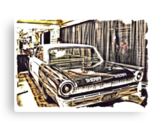 An Extremely Popular Squad Car Canvas Print