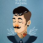 Love Mustache by hbitik