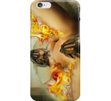 trapped lust iPhone Case/Skin