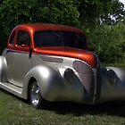 1937 Ford Coupe Hot Rod by TeeMack