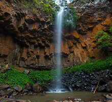 Browns Falls, Main Range NP by McguiganVisuals