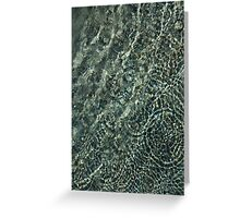 Sunshine and Ripples Greeting Card