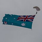 Royal Australian Air Force Ensign, Point Cook Air Show 2014 by Pauline Tims