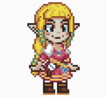 Skyward Sword - Zelda Pixel by geekmythology