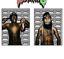 Flatbush Zombies // MEECH x JUiCE by Ben McCarthy