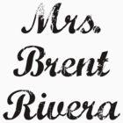 Mrs. Brent Rivera by BaileyLisa
