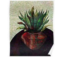 Fractal Botanical Poster