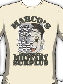 Marco's Discount Military Surplus T-Shirt