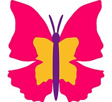 Beautiful colorful Butterfly design by Style-O-Mat