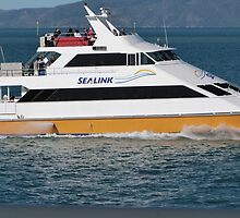 Ferry between Townsville & Magnetic Island. Far Nth. Qld. by Rita Blom