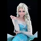 Elsa, The Snow Queen  by AngelCisneros