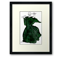 Mr. Voldy--Watercolours.  Framed Print