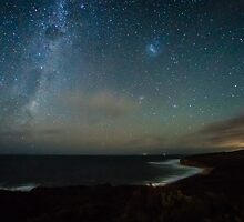 Bells Beach Night Sky by Russell Charters