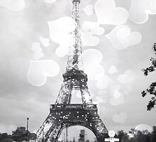 Eiffel Tower, Black and White by LLStewart