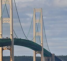 Mackinac Bridge Majesty by eawhite2012