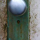 Patina Doorknob by Karen Jayne Yousse