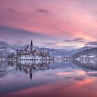 Lake Bled at Sunrise by Curtis Budden