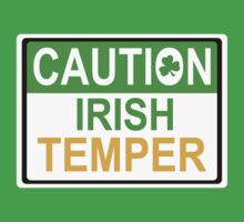 caution irish temper by mamacu