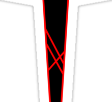 Kill la Kill - Three Star Goku - Red Strings of Fate Sticker