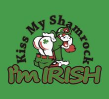 kiss my shamrock by mamacu