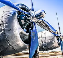 B29 Wright R-3350 Engines by Chris L Smith