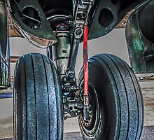 Wheels on the plane.... by chris-csfotobiz