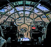 B29 Cockpit view by chris-csfotobiz