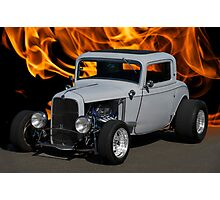 1932 Ford 'Heat of the Moment' Coupe Photographic Print
