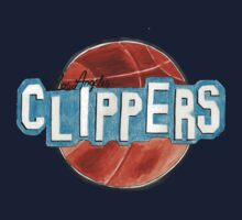 Los Angeles Clippers design by nbatextile