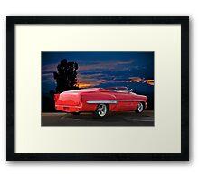 1954 Chevrolet Bel Air Convertible Framed Print