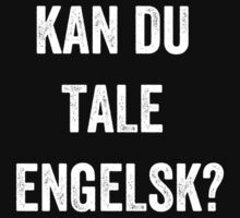 Do you speak English? (Danish) (White) by EnglishAbroad