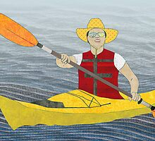 Kayak by Janet Carlson