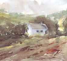 Countryside house on the Camino by peterpeter