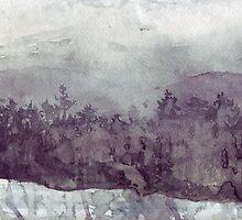 Plein Air Snow by peterpeter