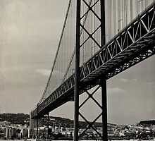 Lisbon's Golden Gate  by Wrayzo